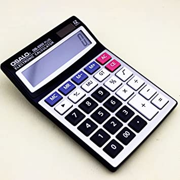 Amazon.com: osalo de alta calidad OS-8900 plus calculadora ...