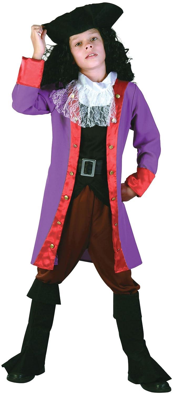 Bristol Novelty Traje de Pirata Garfio (L) Edad aprox 7-9 años ...
