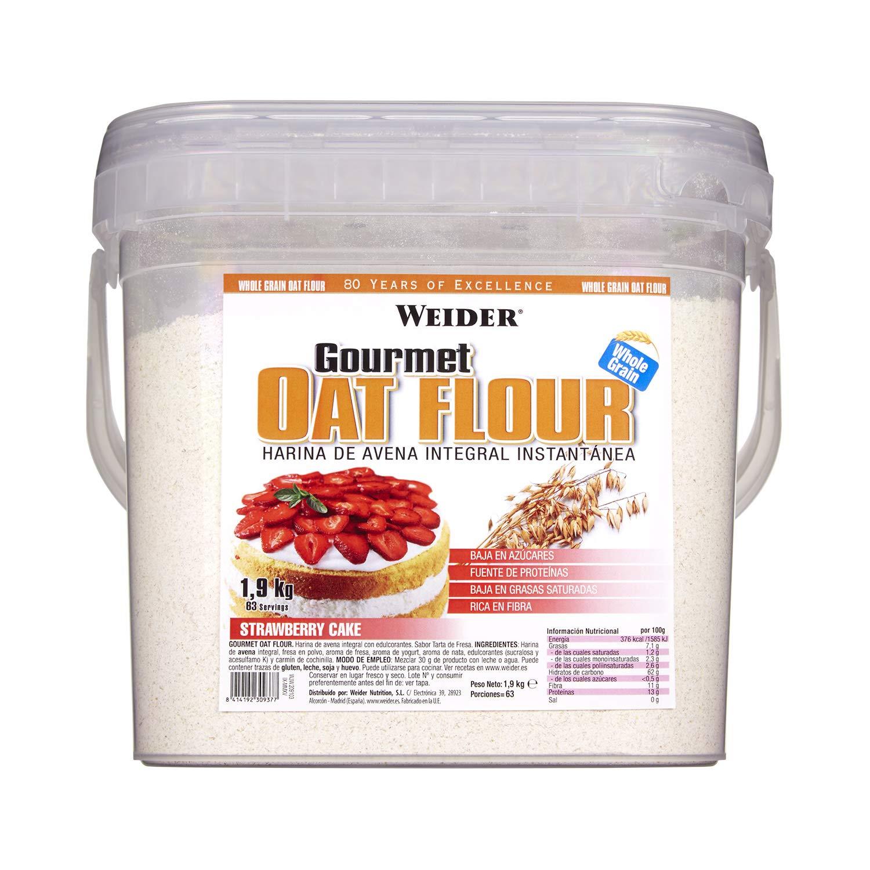 Weider Oat Gourmet Flour Tarta de Fresa - 1,9 kg: Amazon.es: Salud ...