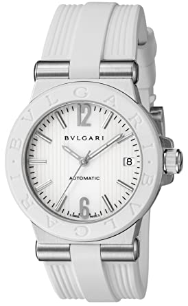 3de5e178be1a [ブルガリ]BVLGARI 腕時計 ディアゴノ ホワイト文字盤 自動巻 DG35WSWVD レディース 【並行輸入