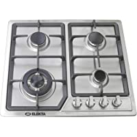 Elekta 4 Burner Gas Stove, Built-in Stainlees Steel Gas Stove, with Full Safety - EGC-B504SSMKII