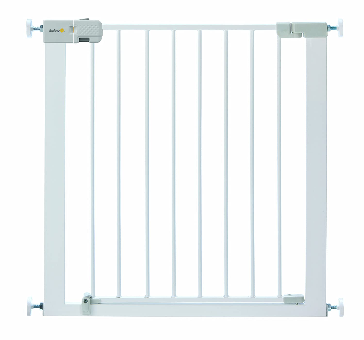 Safety 1st Simply Close Pressure Fit Metal Gate, White 24204317