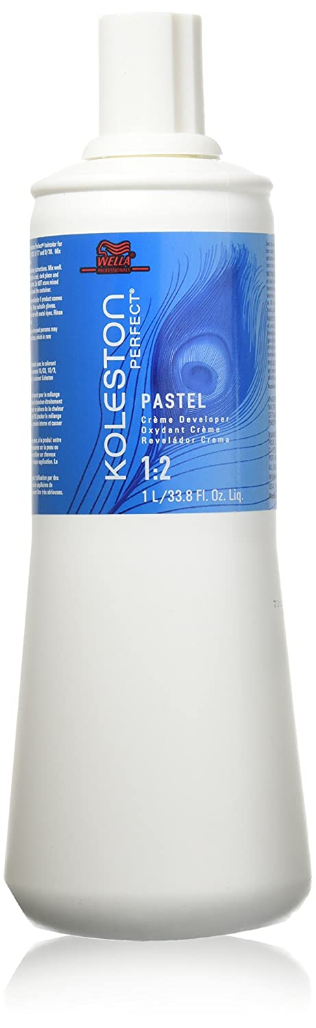 Wella Koleston Perfect Pastel Creme Developer, 33.8 Ounce Mainspring America Inc. DBA Direct Cosmetics