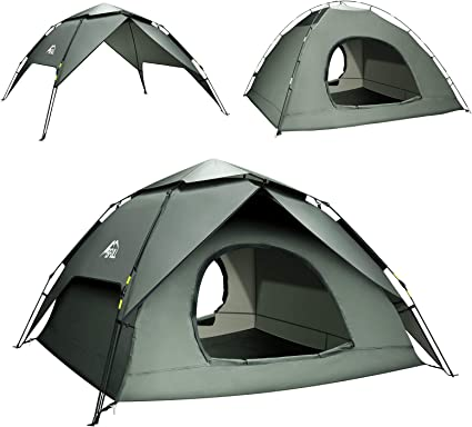 Fully Automatic Camping Tent Instant Pop Up Style 4-5 Person Waterproof HOT DEAL