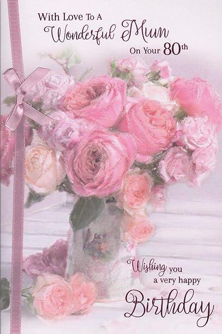 Tarjeta de cumpleaños para mamá ~ con amor a una maravillosa ...
