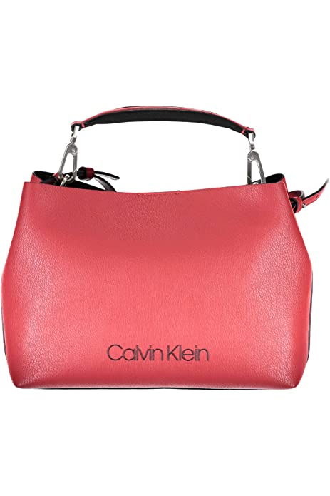 Calvin Klein BORSA DONNA POP TOUCH MEDIUM TOT K60K604341 COLOR unica rosso   Amazon.it  Scarpe e borse 02982a44cad