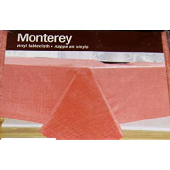 Amazon Com Monterey Flannel Backed Vinyl Tablecloth