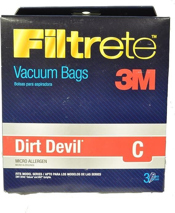 Dirt Devil tipo/tipo C bolsas para aspiradora T5700: Amazon.es: Hogar