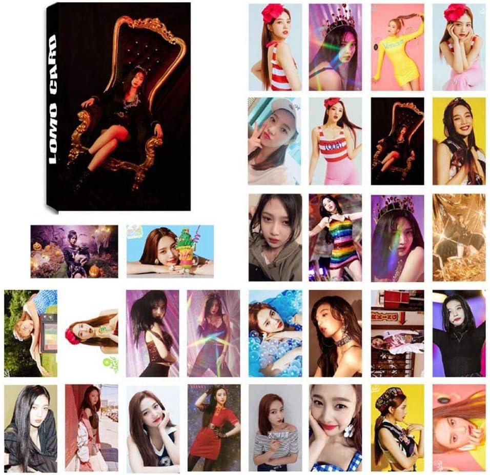 GOTH Perhk Kpop Red Velvet Album RBB 30 St/ück Foto Postkarte Unterst/ützung Lomo Karten Set Geschenk f/ür Fans H01