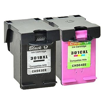NineLeaf - Cartuchos de Tinta para Impresora HP Deskjet 2540, 1510 ...
