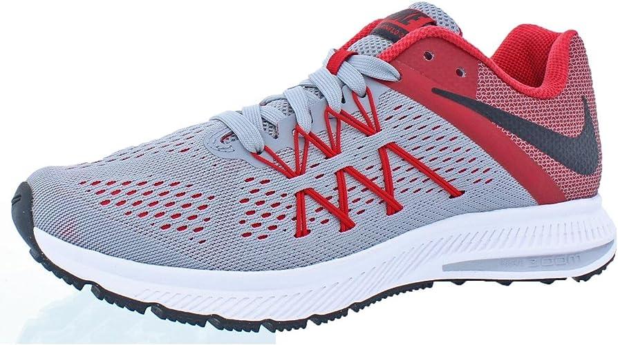 Impedir Persistencia caos  Nike Zoom Winflo 3 Fitsole - Zapatillas de running para hombre,  gris/negro/rojo (Wolf Grey/Black-university Red), 6.5 D (M) US:  Amazon.com.mx: Ropa, Zapatos y Accesorios