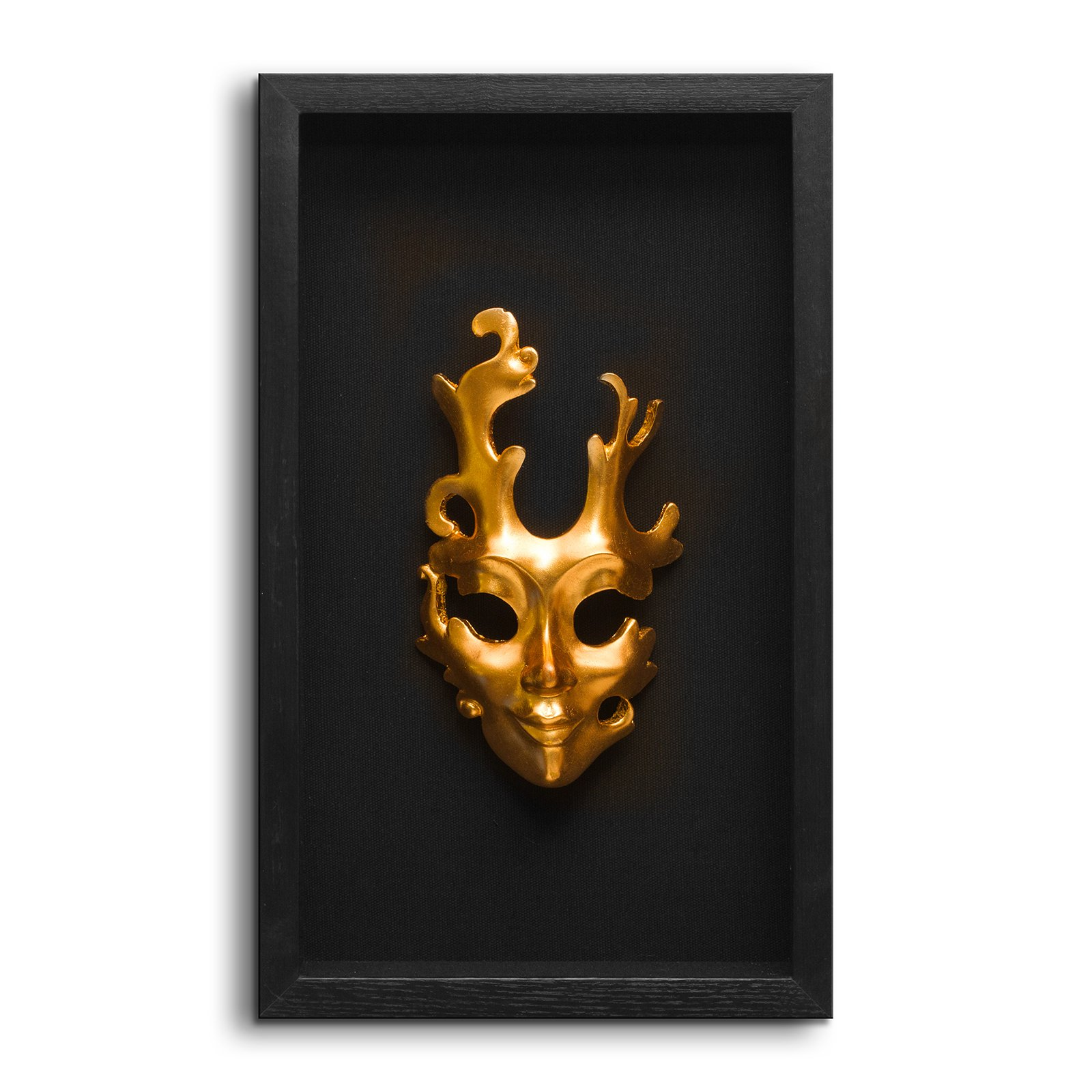 Fredrik Lorenz Original Riva Faces of Venice - Venetian Mask Wall Decor, Shadow Box Face Mask Wall Accent (3 Sisters) by Fredrik Lorenz (Image #5)