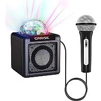 EARISE T12 - Máquina de karaoke para niños con micrófono, altavoz inalámbrico de karaoke, altavoz Bluetooth para niñas…