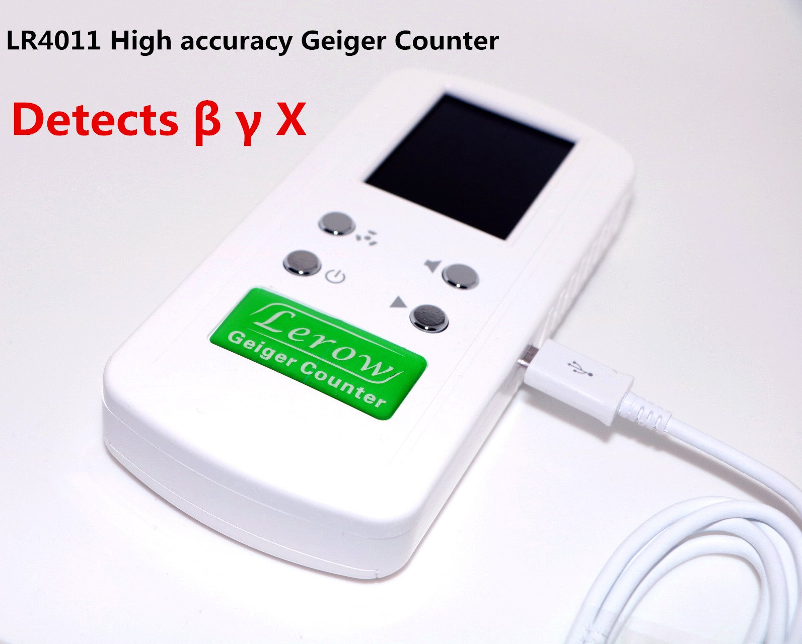 Lerow LR4011 Nuclear Radiation Detector Geiger Counter Nuclear Radiation Detector Personal Dosimeters Detects Combined Beta Gamma X-Ray