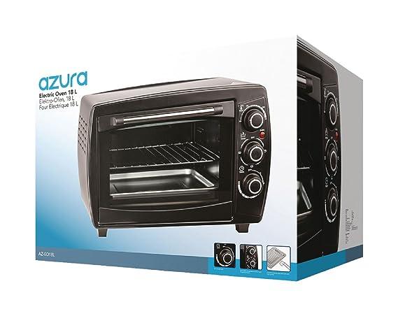 AZ Azura EO18L ahumadero tostadora, 18 L, 1200 W con la ...
