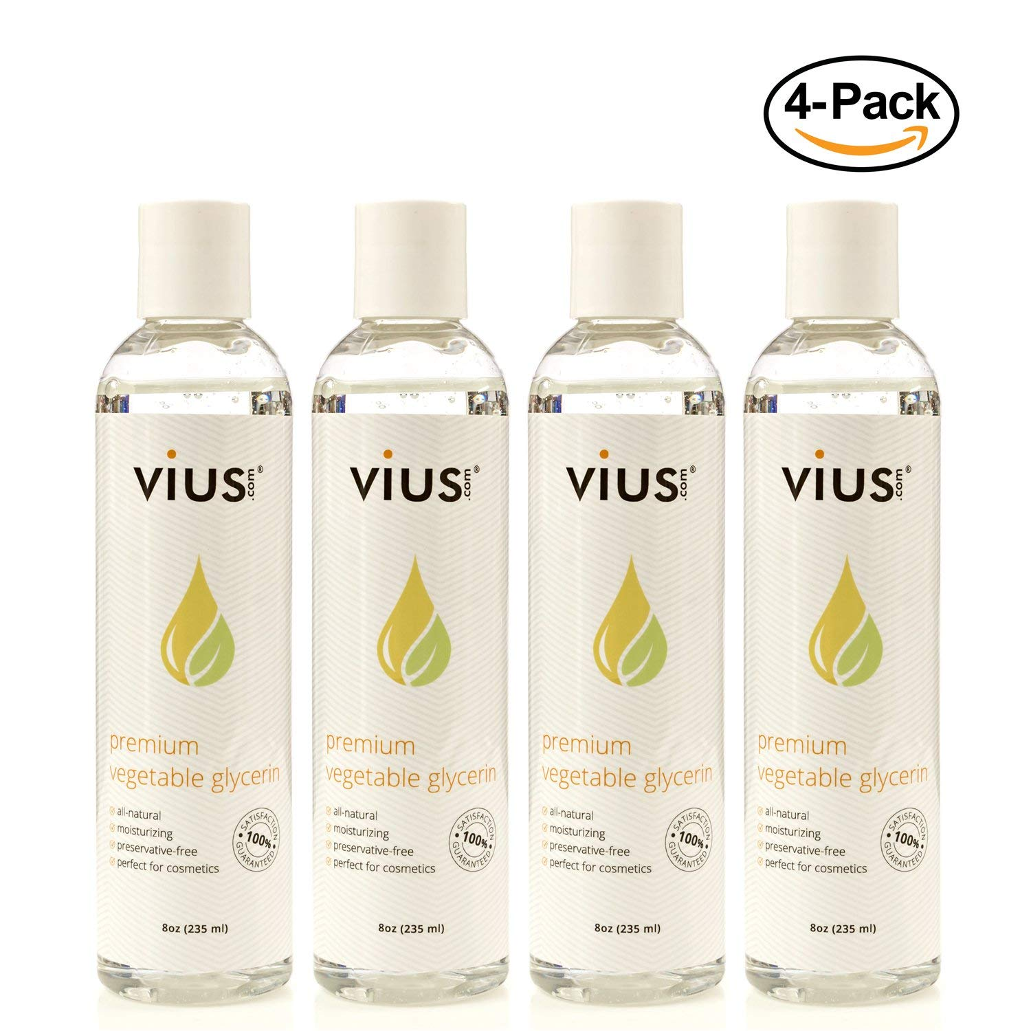 Vegetable Glycerin - vius Natural Glycerin for Moisturizing, Shaving, and  other Skin Care - Pure and Natural