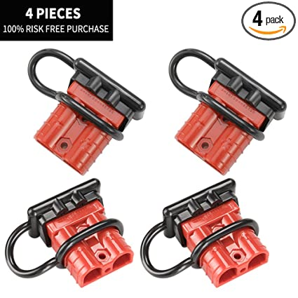Amazon.com: LITE-WAY 6-10 GAUGE Battery Quick Disconnect/Connector