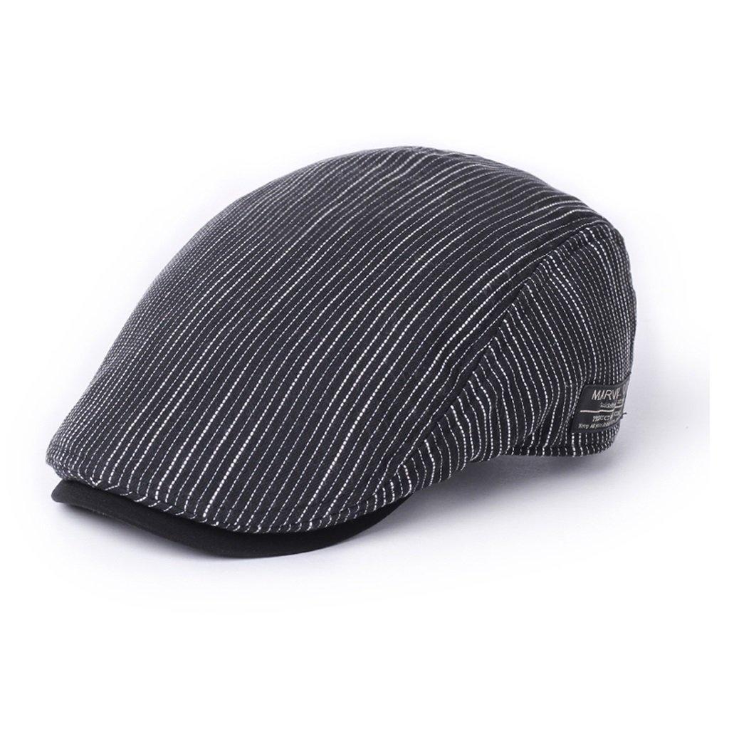 C&S Erreichte Kappe Einfache Freizeit-Junger Mann-Barett-Justierbare Hut-Größe