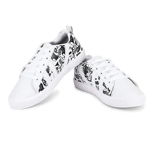 Footpad Top Trending Printed Sneakers