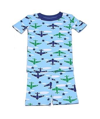 af025b128 Amazon.com  New Jammies Organic Cotton Short Pajama Set  Clothing