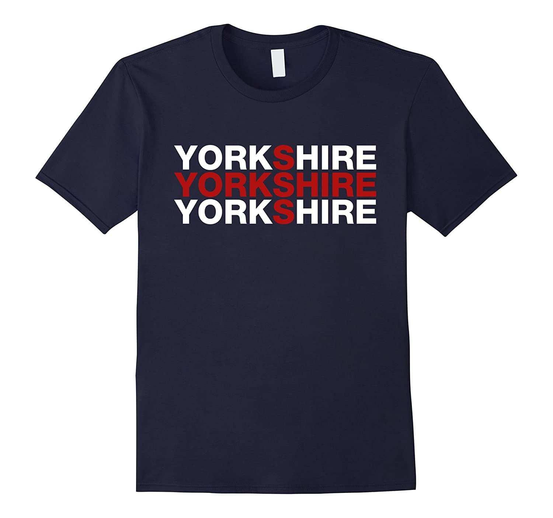 Yorkshire England Flag Shirt - Yorkshire T-Shirt-TH