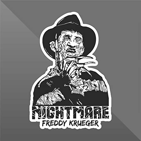 Erreinge sticker nightmare freddy krueger horror decal cars motorcycles helmet wall camper bike adesivo adhesive