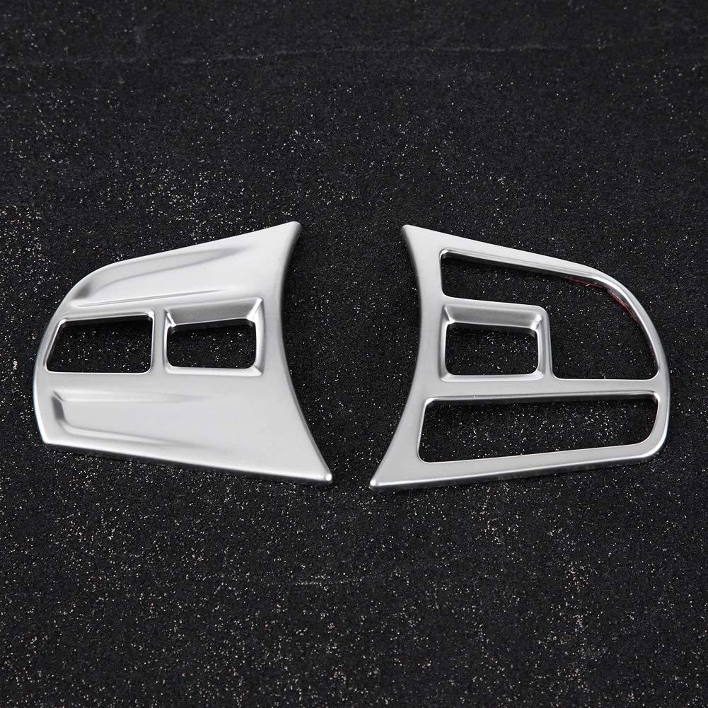 cromo mate ABS cubierta de botones del volante Cubierta de botones del volante ajuste para BMW 3 Series//GT F30 F34 2013-2018