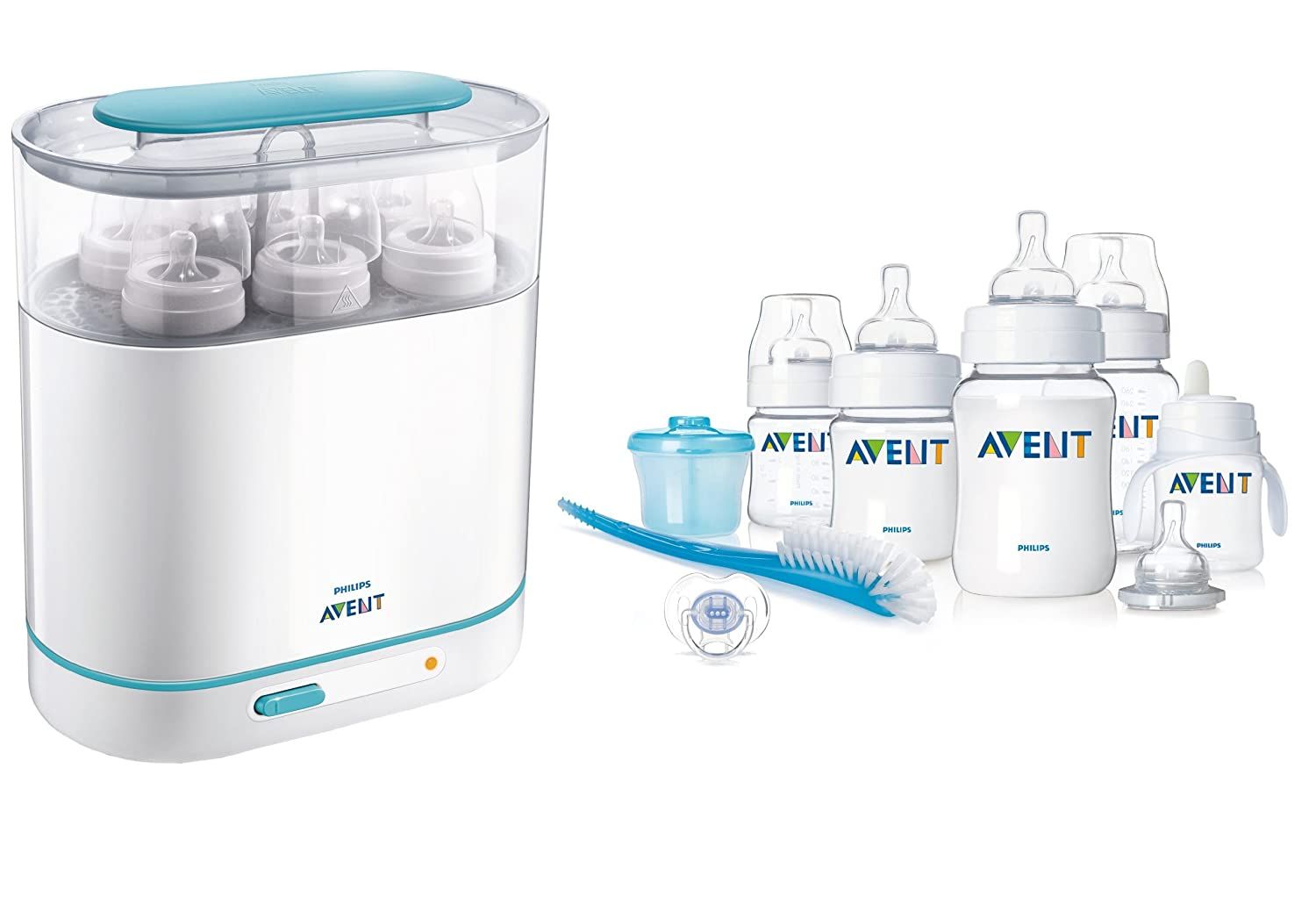 Amazon.com: Philips AVENT Infant Classic Starter Set con 3 ...