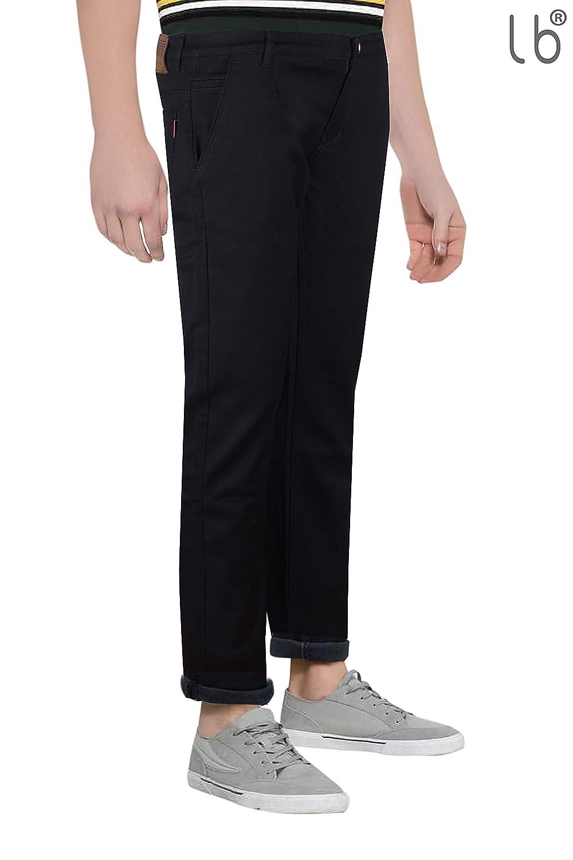 Buy Losbluyines Lb Los Bluyines Mens Nerrow Fit Denim Jeans Lycra Black 38 At Amazon In