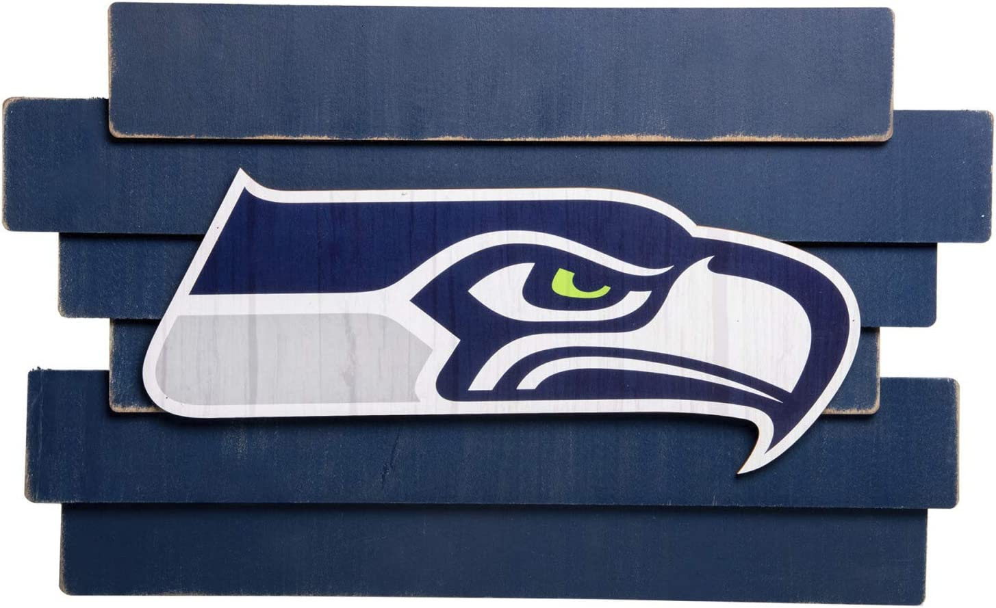 FOCO NFL Staggered Wood Logo Wall Sign