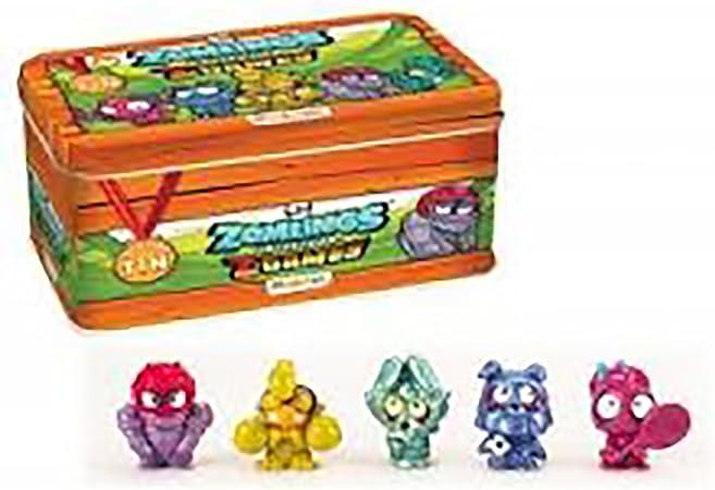 Zomlings Serie 4 Lata Metalica Caja Tin Z Games Ultima Generacion: Amazon.es: Juguetes y juegos