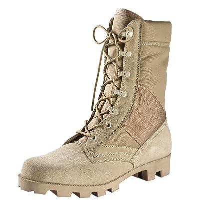 Amazon.com   Rothco G.I. Type Speedlace Desert Tan Jungle Boot ... 52063eb3e5
