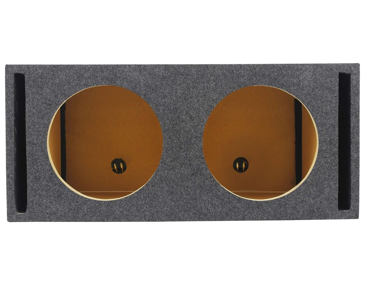 Rockville RDV12M Dual 12'' Vented w/Divided Chambers 2.0 Cu Ft/Side Sub Enclosure