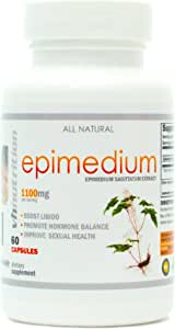 VH Nutrition | Epimedium 1100mg Supplement | Horny Goat Weed Extract | 30 Day Supply