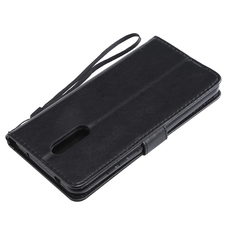 TOKTU080441 Blau Klapph/ülle mit Kartenfach Brieftasche Lederh/ülle Stossfest Handyh/ülle Klappbar Case f/ür Nokia3.2 Tosim Nokia 3.2 H/ülle Leder