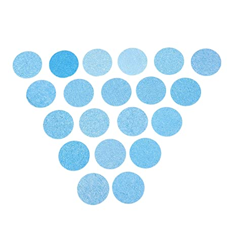"""20pcs 1.97 """"alta temperatura duradero Condensa de soldadura eléctrica soldador limpieza esponja azul"""