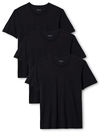 6d6c2cf5707 BOSS Men's T-Shirt Rn Co Pack of 3: Amazon.co.uk: Clothing