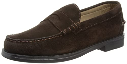 Sebago Grant - Mocasines de cuero hombre, marrón - Brown - Braun (CHOCOLATE BROWN), 40: Amazon.es: Zapatos y complementos
