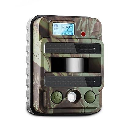 DURAMAXX Grizzly Max PIR cámara de vigilancia y observación (40 LEDs, 8 MP,