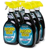 Invisible Glass 92194-6PK 32-Ounce Cleaner and Window Spray for Home and Auto for a Streak-Free Shine Film-Free Glass…