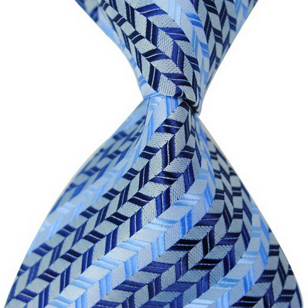 PAHALA Mens Fashion Silk Necktie Mix Color JACQUARD WOVEN Tie 0180
