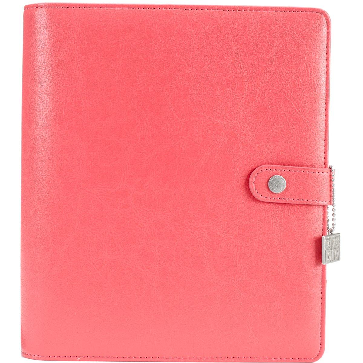 carpe Diem coral Posh planner cofanetto, rosa, A5 Simple Stories 4932