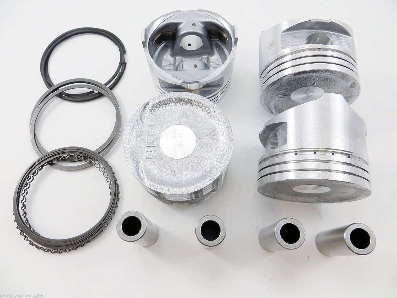 Pistons with Rings Eagle Talon 2.0 Turbo DOHC 16-Valves