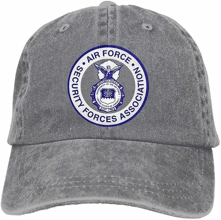 UCOOLE AFSFA Air Force Security Forces Association Dad Hat Adjustable Denim  Hat Classic Baseball Cap 2f79cfb597f
