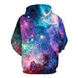 NONSAR 3D Graphic Printed Hoodies for