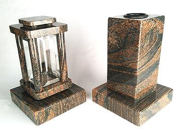 Vase 2 Medium Moderne Funéraire Designgrab Avec Cube Lot De Et Lampe OkXZiPu