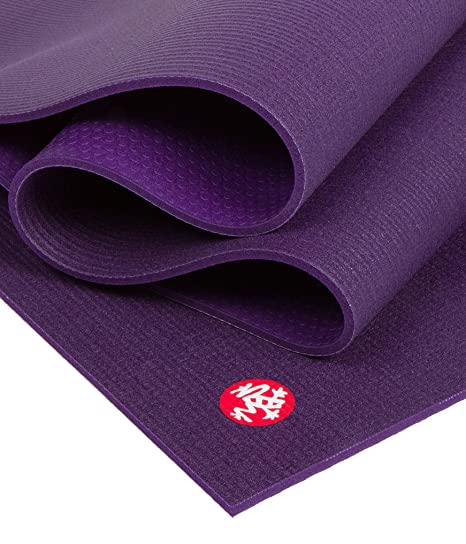 Manduka Black Mat PRO - Esterilla para yoga, 6 mm, extralarga 216 cm, color negro
