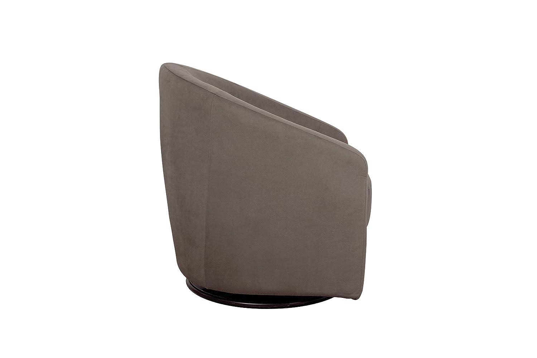 Furniture swivel and tub chairs dori fabric swivel cuddle chair - Amazon Com Babyletto Madison Swivel Glider Slate Nursery Gliders Baby