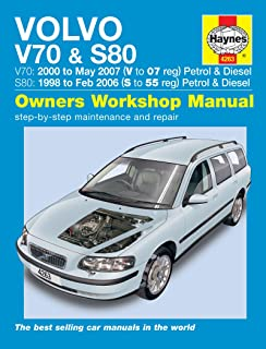 volvo s70 c70 and v70 service and repair manual haynes service and rh amazon co uk volvo s70 v70 owners manual 1999 .pdf Volvo V40