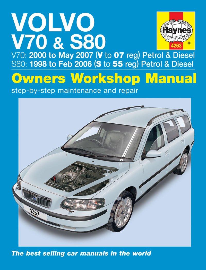 Volvo V70 Repair Manual Haynes Manual Service Manual Workshop Manual 1998-2007:  Amazon.co.uk: Car & Motorbike